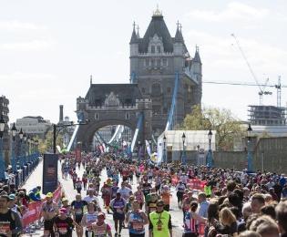 La Maratona di Londra: la gara sportiva più importantedell'anno
