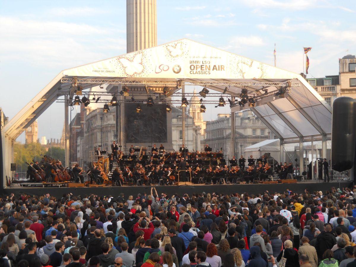 Londra e i concerti sotto lestelle