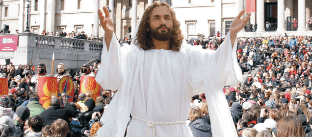 Gesù a TrafalgarSquare