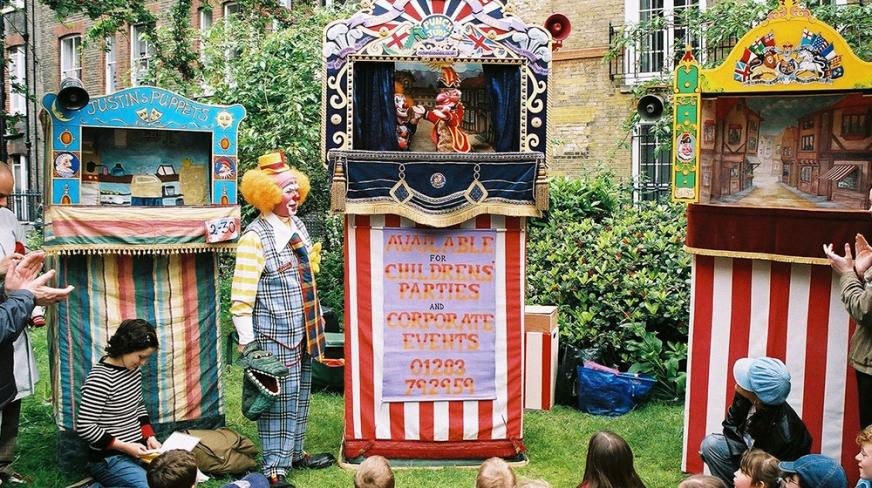 Il festival delle Marionette a CoventGarden